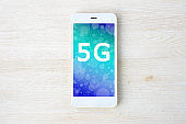 Smart phone with 5G network interface