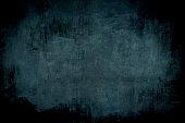 dark blue grungy wall backdrop
