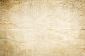 Old crumpled paper background or texture