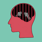 depression brain concept