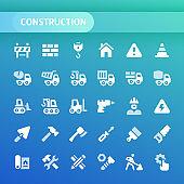 Construction Vector Icon Set.