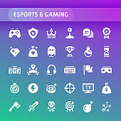 Solid icon set