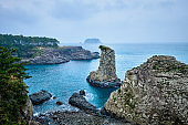 Oedolgae Rock, Jeju island, South Korea