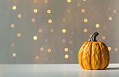 A autumn pumpkin