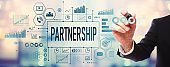 Partnership with businessman