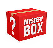 Mystery Box Isolated