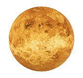 Planet Venus Isolated