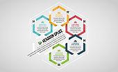 Hexagon Splice Infographic