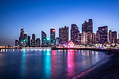 Qingdao city night