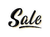 'Sale' bulk lettering sign for banner, poster, tags