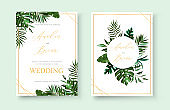 stock-vector-wedding-invitation-floral-invite-thank-you-rsvp-modern-card-design-green-tropical-palm-leaf-1005706003