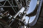 Fuel factory industrial building