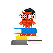 Colorful Educational logo and Back to school