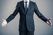 businessman wearing a suit