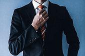 Businessman of a suit