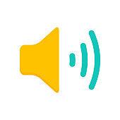 Audio Speaker Volume Icons. Sound icon