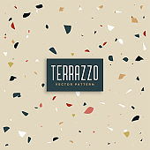 modern terrazzo texture design background