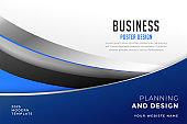 modern business poster flyer presentation design