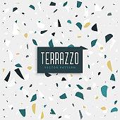 terrazzo stone texture background design