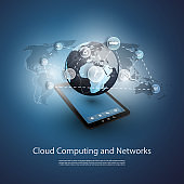 Cloud Computing, Media Storage and Services Design Concept