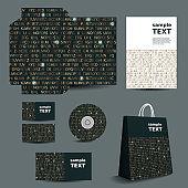 Stationery Template, Corporate Identity Design Set