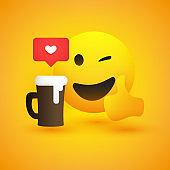 Emoji with coffee&beer