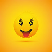 Smiling Emoji with Stuck Out Tongue - Income