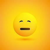 Sad Yellow Emoji