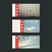 Web Design Elements - Banner Designs