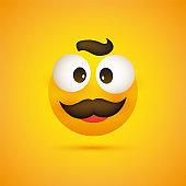 Smiling Emoji with Beard