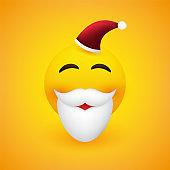 Smiling Santa Claus Emoji