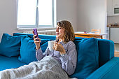 Mature Woman Using Smartphone