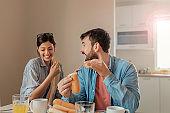 Breakfast is better when you share it