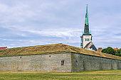 Spire of Oleviste Church.