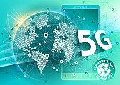 Smart Phone, communications technology 5G