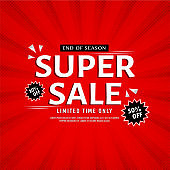 Red Sale  Background