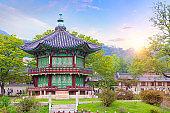 Gyeongbokgung palace in Seoul South Korea