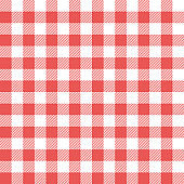 Picnic table cloth background for design montage vector illustration
