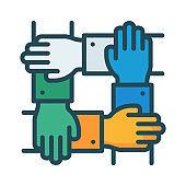 teamwork   solution   group