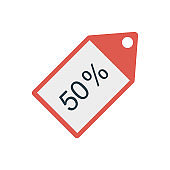 discount  label  tag