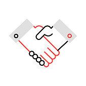handshake   meeting   commitment