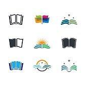 Book vector symbol icon