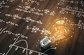 Innovation and math concept