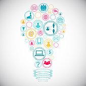 Idea and network concept