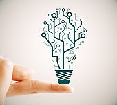 Idea, innovation and growth concept