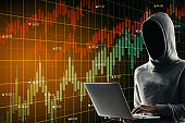Trade and malware concept