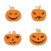 Jack o'lantern Happy Halloween icon