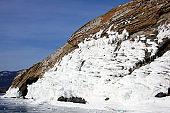 Nature of Baikal Lake, Russia