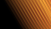 Liquid gold smooth stripes abstract tech background