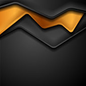 Black and bronze abstract corporate background